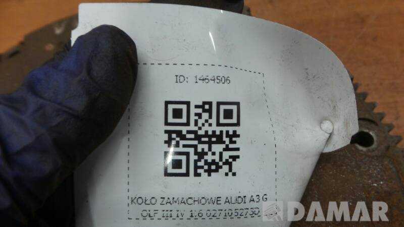 027105273D KOLO ZAMACHOWE AUDI A3 GOLF III IV 1.6