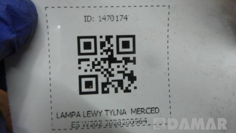2028200964 LAMPA LEWY MERCEDES W202