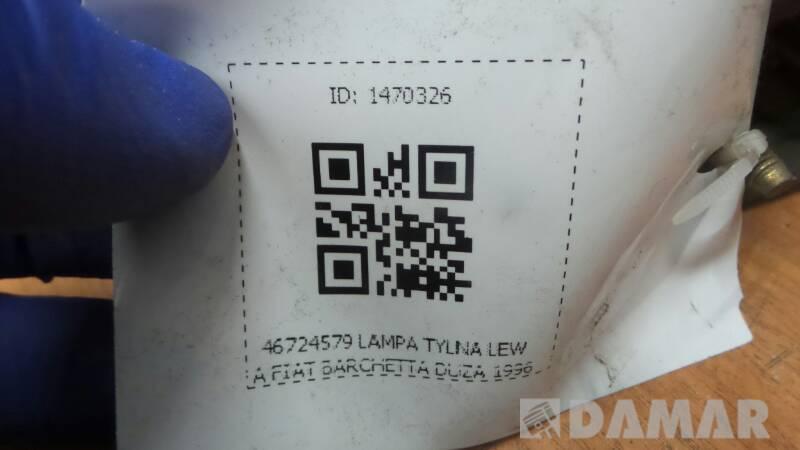 46724579 LAMPA TYLNA LEWA FIAT BARCHETTA DUZA 1996