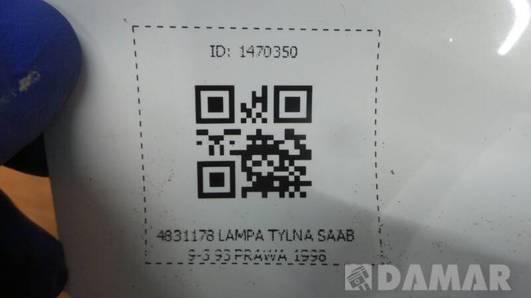 4831178 LAMPA TYLNA SAAB 9-3 93 PRAWA 1998