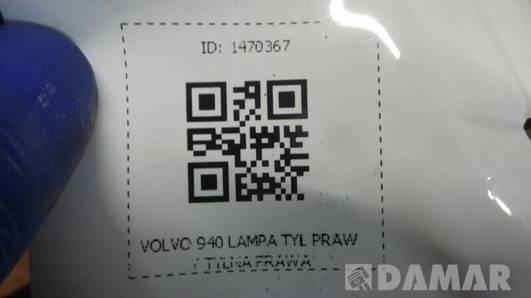 3534084 LAMPA PRAWY TYL VOLVO 940