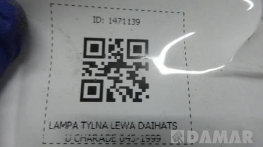 043-1999 LAMPA TYLNA LEWA DAIHATSU CHARADE