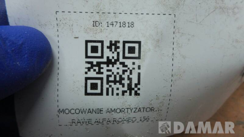 MOCOWANIE AMORTYZATORA PRAWE ALFA ROMEO 156