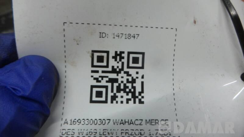 A1693300307 WAHACZ MERCEDES W169 LEWY PRZOD 1.7CDI