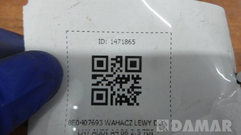8E0407693 WAHACZ LEWY DOLNY AUDI A4 B6 2.5 TDI