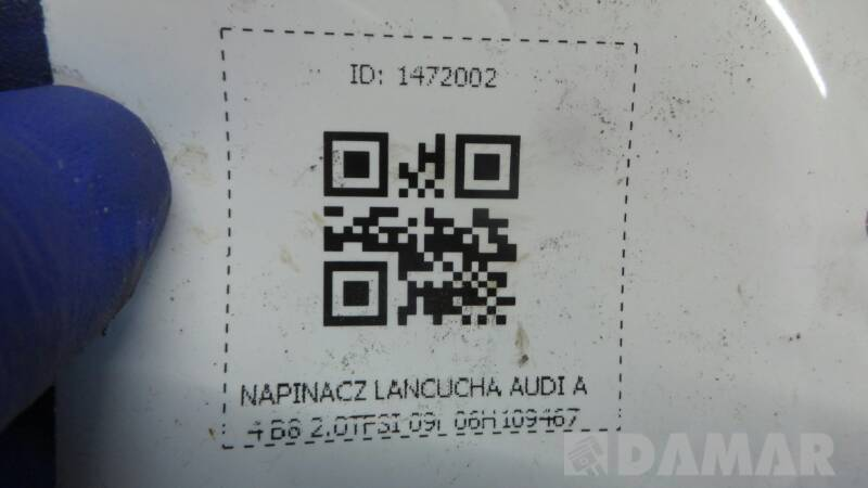 06H109467 NAPINACZ LANCUCHA AUDI A4 B8 2.0TFSI 09r