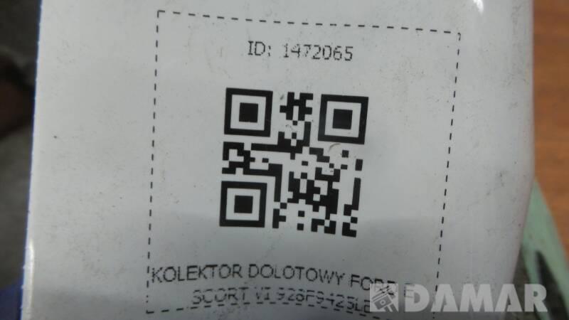 928F9425LE KOLEKTOR DOLOTOWY FORD ESCORT VI 1.8