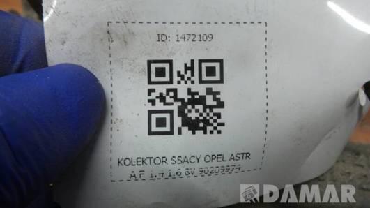 90209974 KOLEKTOR SSACY OPEL ASTRA F 1.4 1.6 8V