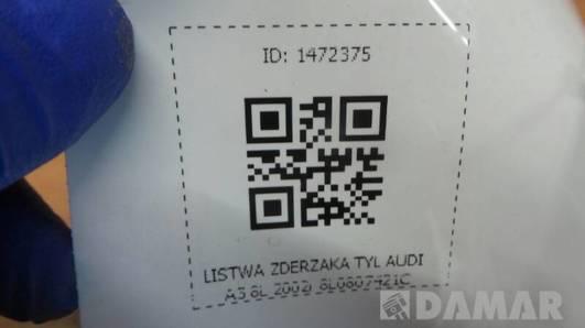 8L0807421C LISTWA ZDERZAKA TYL AUDI A3 8L 2002r