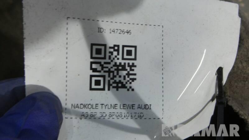 NADKOLE TYLNE LEWE AUDI A3 8P 3D 8P0810171D