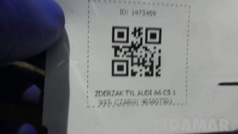 ZDERZAK TYL AUDI A6 C5 SEDAN 97r CZARNY 4B5807301