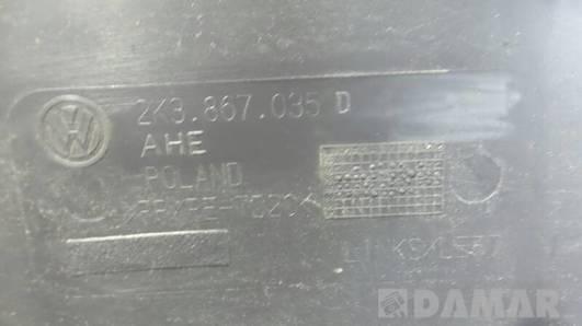 TAPICERKA MAXI LONG LEWA VW CADDY 2K3867035D