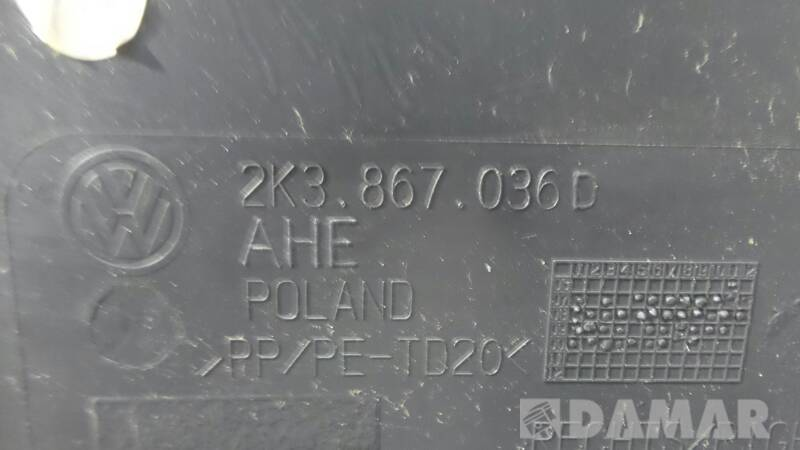 2K3867036D TAPICERKA MAXI LONG PRAWA VW CADDY