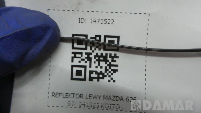 041323  REFLEKTOR LEWY MAZDA 626 97r KOITO
