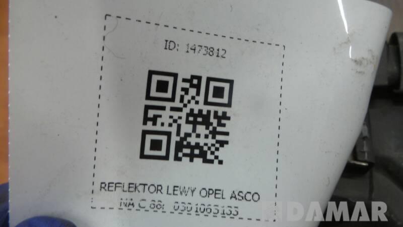 REFLEKTOR LEWY OPEL ASCONA C 88r  0301063133