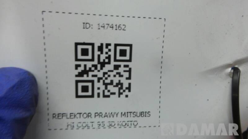 110-37776 REFLEKTOR PRAWY MITSUBISHI COLT IV KOITO