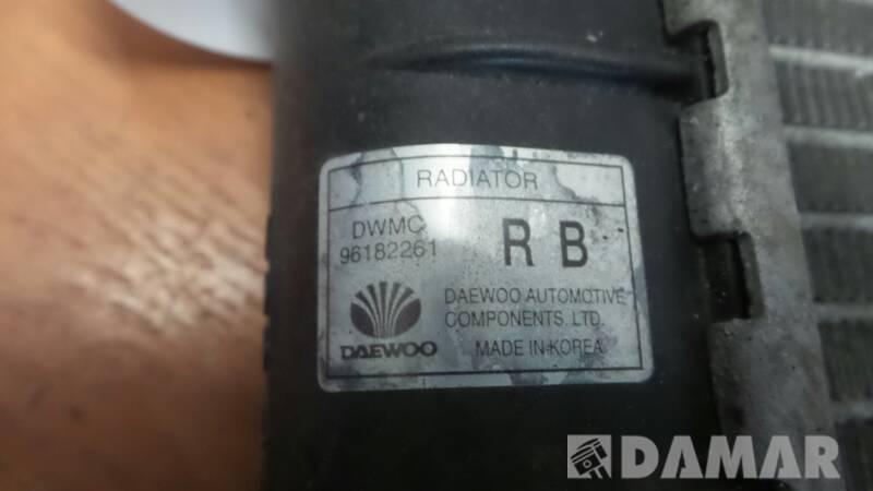 CHLODNICA WODY DAEWOO LANOS 1.4 96182261