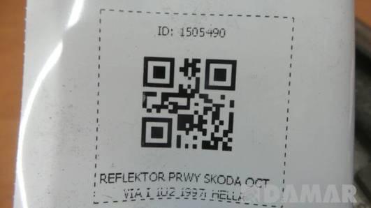 246086-00 REFLEKTOR PRAWY SKODA OCTVIA I 1U2 1997r