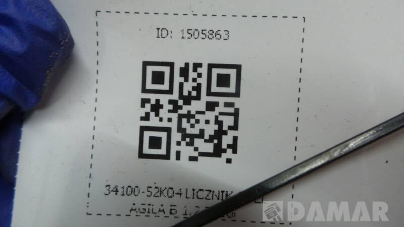 34100-52K04 LICZNIK OPEL AGILA B 1.2 2010r