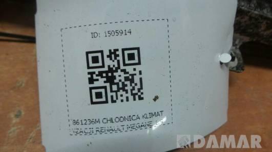 861236M CHLODNICA KLIMATYZACJI RENAULT MEGANE 1.9