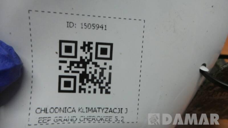 CHLODNICA KLIMATYZACJI JEEP GRAND CHEROKEE 5.2
