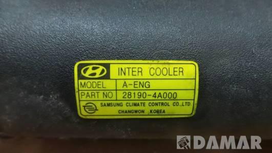 28190-4A000 INTERCOOLER HYUNDAI H-1 2,5 CRDI