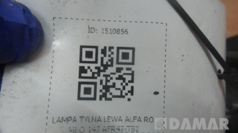 AFR47-TB2 LAMPA TYLNA LEWA ALFA ROMEO 147