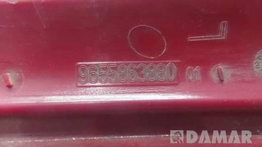 9655863880 LAMPA ODBLASK LEWY TYL CITROEN C4