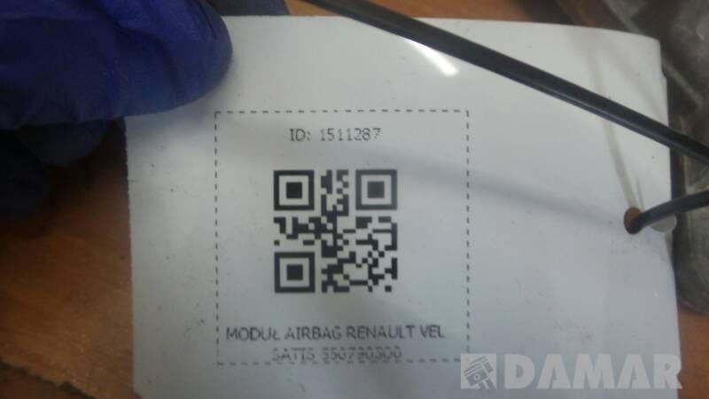 550790300 MODUL AIRBAG RENAULT VEL SATIS