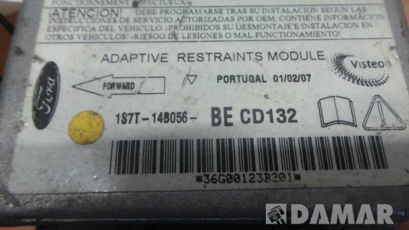 1S7T14B056BE MODUL AIRBAG FORD FORD MONDEO MK3 00R