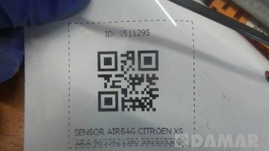 9633621380 SENSOR AIRBAG CITROEN XSARA 550535300