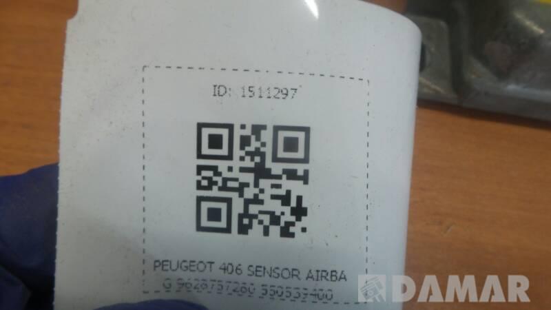 9628757280 SENSOR AIRBAB PEUGEOT 406