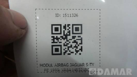 XR8A14B321BC MODUL AIRBAG JAGUAR S-TYPE 1999r
