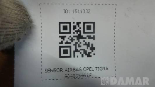 90483546  SENSOR AIRBAG OPEL TIGRA LP