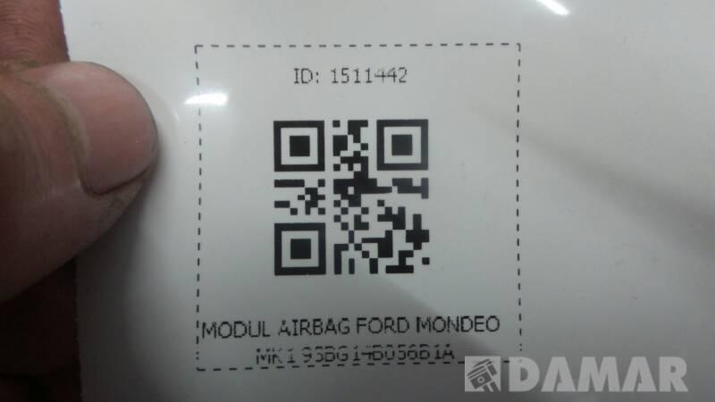 93BG14B056B1A MODUL AIRBAG FORD MONDEO MK1
