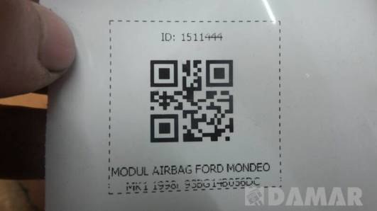 97BG14B056DC MODUL AIRBAG FORD MONDEO MK1 1998r