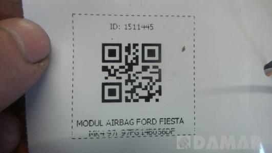 97FG14B056DF MODUL AIRBAG FORD FIESTA MK4 97r