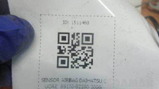 89170-B2280 SENSOR AIRBAG DAIHATSU CUORE 2006r