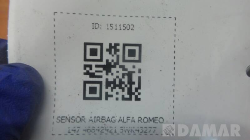 SENSOR AIRBAG ALFA ROMEO 147 46842421 5WK43277