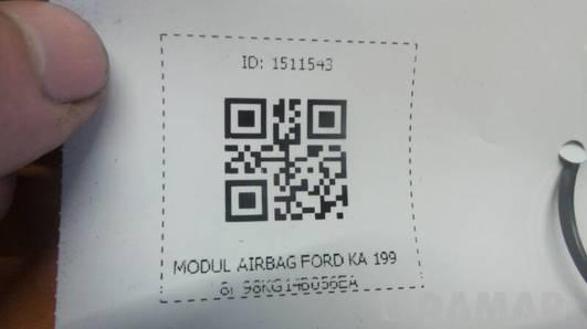 98KG14B056EA MODUL AIRBAG FORD KA 1998r