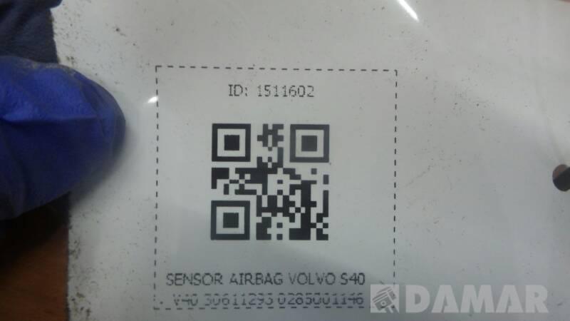30611293 SENSOR AIRBAG VOLVO S40 V40 0285001146