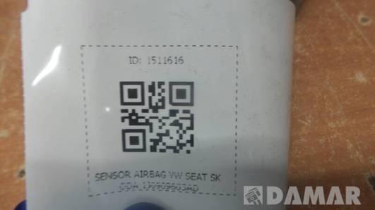 1J0909603AD SENSOR AIRBAG VW SEAT SKODA