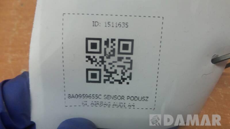 8A0959655C SENSOR PODUSZKI  AIRBAG AUDI A4