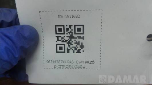 96314387XX PAS LEWY PRZOD CITROEN XSARA