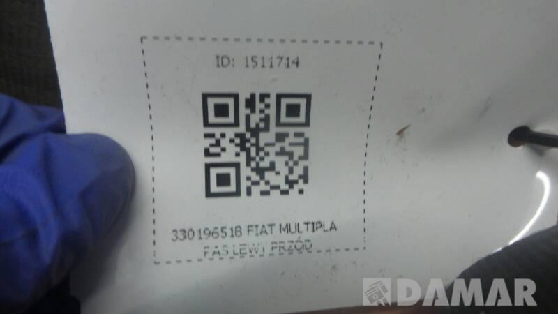 33019651B FIAT MULTIPLA PAS LEWY PRZOD