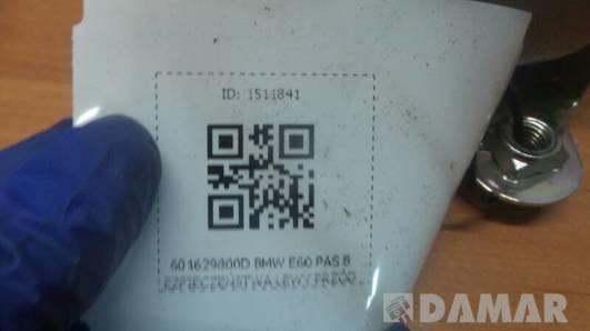 601629800D BMW E60 PAS BEZPIECZEŃSTWA LEWY PRZÓD