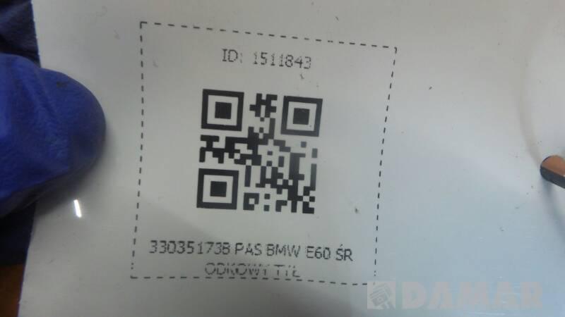 33035173B PAS BMW E60 ŚRODKOWY TYŁ