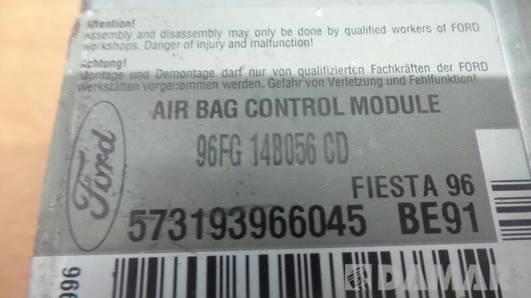 96FG14B056CD MODUL AIRBAG FORD FIESTA MK4 1996r