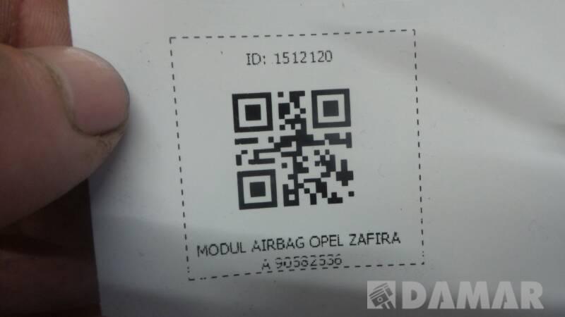 90582536 MODUL AIRBAG OPEL ZAFIRA A