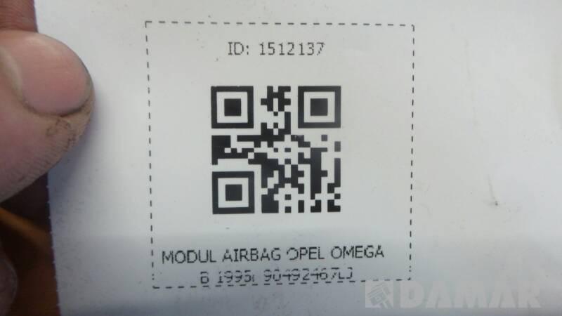 90492467LJ  MODUL AIRBAG OPEL OMEGA B 1995r